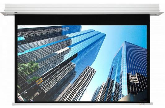 Фото - [LMRC-100206] Встраиваемый экран с электроприводом Lumien Master Recessed Control 185х266 см (раб.область160х256 см) (119) Matte White чёрн.кайма по периметру, черн.кайма сверху 20 см, триггер, RS232, IR, RF управл.в комплекте, цвет корпуса белый 16:10 чемодан samsonite чемодан 55 см rectrix 40x55x20 см