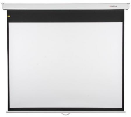 Фото - [LMP-100106CSR] Настенный экран Lumien Master Picture CSR 170x213см (раб.область 115х203 см) (92) Matte White черн. кайма по периметру, механизм плавного возврата, возможность потолочн./настенного крепления (белый корпус) 16:9 кеды мужские vans ua sk8 mid цвет белый va3wm3vp3 размер 9 5 43