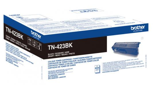 Картридж лазерный Brother TN423BK черный (6500стр.) для Brother DCP-L8410CDW/HL-L8260CDWMFC-L8690CDW