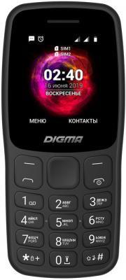 Мобильный телефон Digma C170 Linx 32Mb черный моноблок 2Sim 1.77 128x160 0.08Mpix GSM900/1800 MP3 FM microSD max16Gb мобильный телефон philips xenium e106 красный моноблок 2sim 1 77 128x160 0 3mpix bt gsm900 1800 gsm1900 mp3