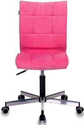 Кресло Бюрократ CH-330M/VELV36 розовый Velvet 36 крестовина металл