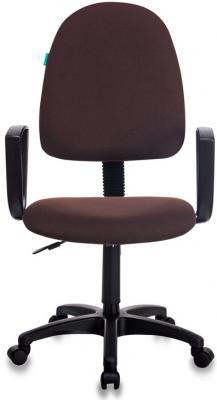 Кресло Бюрократ CH-1300N/BROWN коричневый Престиж+ кресло бюрократ ch 868axsn brown коричневый