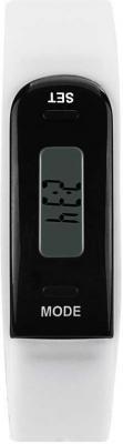 Фото - Фитнес-трекер Smarterra FitMaster Run TFT корп.:черный рем.:белый (SM-FMRW) фитнес браслет smarterra фитнес трекер fitmaster 4 ips красный