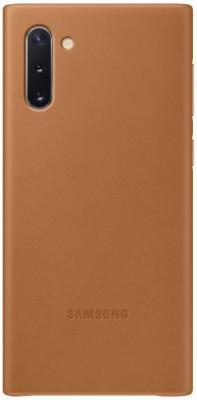 Картинка для Чехол (клип-кейс) Samsung для Samsung Galaxy Note 10 Leather Cover бежевый (EF-VN970LAEGRU)