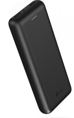Мобильный аккумулятор TP-Link TL-PB20000 Li-Pol 20000mAh 2.1A+2.1A черный 2xUSB аккумулятор tp link power bank 5200 mah tl pb5200