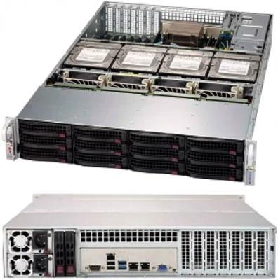 Корпус SuperMicro CSE-829HE1C4-R1K62LPB 2x1600W черный корпус supermicro cse 836ba r920b черный