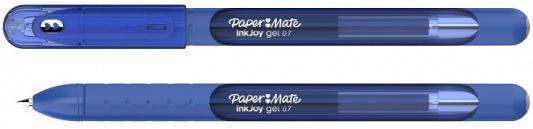 Фото - Ручка гелевая, 0,7 мм, синий цв., грип, пластик корп., PAPER MATE, INKJOY GEL 600 ручка гелевая 0 7 мм черный цв рифление пластик корп index bimberi