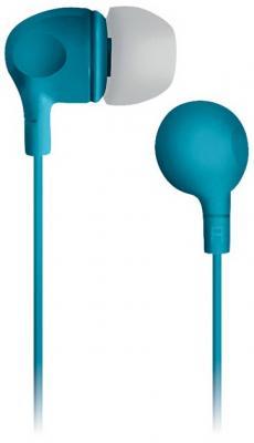 Наушники вкладыши BBK EP-1105S 1.2м бирюзовый проводные (в ушной раковине) цена и фото