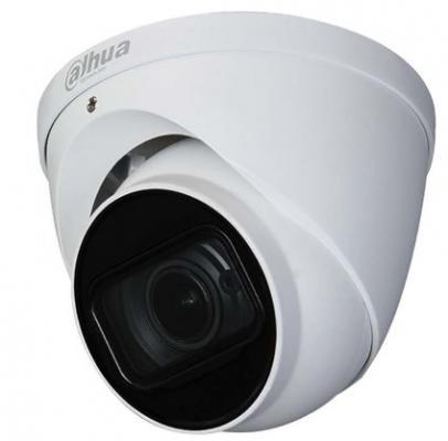 Камера видеонаблюдения Dahua DH-HAC-HDW1400TP-Z-A 2.7-12мм HD СVI цветная корп.:белый сетевая ip камера dahua dh ipc hf5431ep e белый