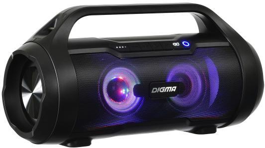 лучшая цена Колонка порт. Digma S-34 черный 25W 1.0 BT/USB 3000mAh (SP3425B)