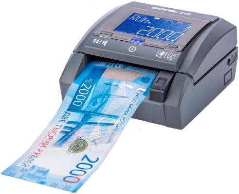 Детектор банкнот Dors 210 Compact FRZ-036191 автоматический рубли