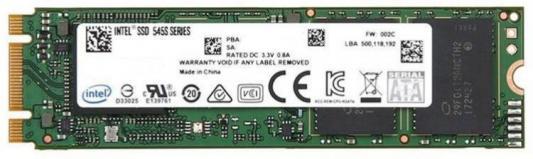 Фото - Накопитель SSD Intel SATA III 256Gb SSDSCKKW256G8X1 545s Series M.2 2280 ssd диск intel 535 series 120gb m 2 2280 sata iii ssd ssdsckjw120h601