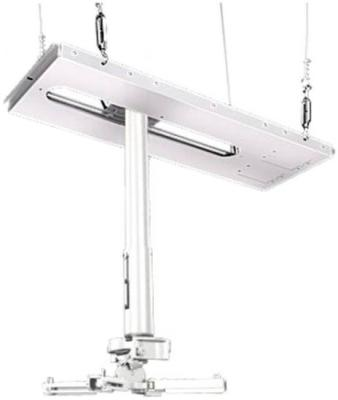 Фото - [CAS-PRG11A-W] Потолочный комплект для проектора Wize Pro для размещения на подвесной потолок на основе комплекта PRG11A-W, штанга 15-28 см, наклон +/- 15°, поворот +/- 8°, вращение 360°, до 27 кг, бел. (2 места) карниз потолочный пластиковый dda поворот акант двухрядный серебро 2 8