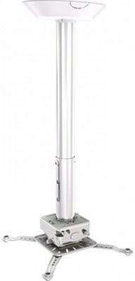 [PRG18A] Универсальный потолочный комплект Wize Pro PRG18A состоящий из крепления с микро регулировкой+штанги 30-46см +площадки к потолку для проектора,макс.расст. между крепеж.отверстиями 537 мм,наклон +/- 15°,поворот +/- 8°,вращение 360°,до 32 кг,черн.