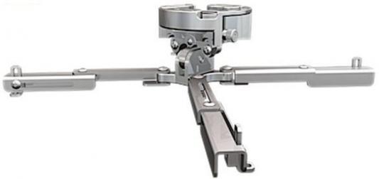 [PR-UNV-S] Универсальное потолочное крепление Wize Pro PR-UNV-S для проектора, максимальное расстояние между крепежными отверстиями 430 мм, наклон +/- 25°, поворот +/- 6°, вращение 360°, до 23 кг, серебрист.