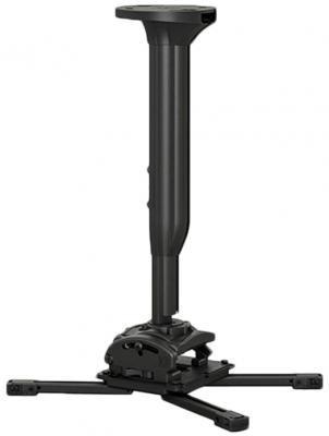 Фото - [KITMC030045B] Потолочный комплект для проектора Chief KITMC030045B нагрузка до 22 кг., длина штанги 30-45 см, микрорегулировки: пов. 3°, накл. 15°, вращ. 360°,черн. автокресло smart travel expert fix marsala 3 12 лет 15 36 кг группа 2 3 kres2072