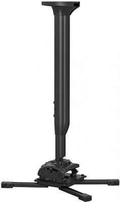 Фото - [KITMC045080B] Потолочный комплект для проектора Chief KITMC045080B нагрузка до 22 кг., длина штанги 45-80 см, микрорегулировки: пов. 3°, накл. 15°, вращ. 360°,черн. автокресло smart travel expert fix marsala 3 12 лет 15 36 кг группа 2 3 kres2072