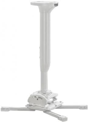 Фото - [KITMC030045W] Потолочный комплект для проектора Chief KITMC030045W нагрузка до 22 кг., длина штанги 30-45 см, микрорегулировки: пов. 3°, накл. 15°, вращ. 360°,бел. автокресло smart travel expert fix marsala 3 12 лет 15 36 кг группа 2 3 kres2072