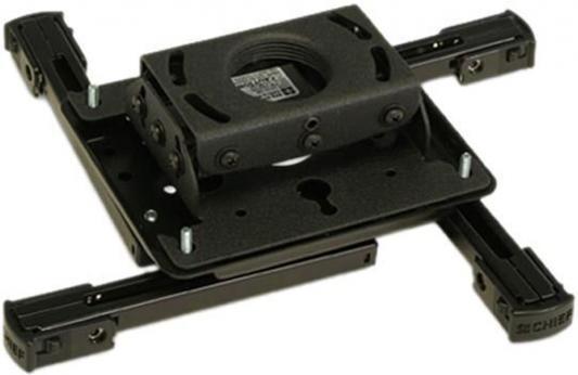 Фото - [RPAUB/RPAU] Универсальное крепление Chief RPAUB для проектора весом до 22.7кг, черный кронштейн для проектора chief rpau black
