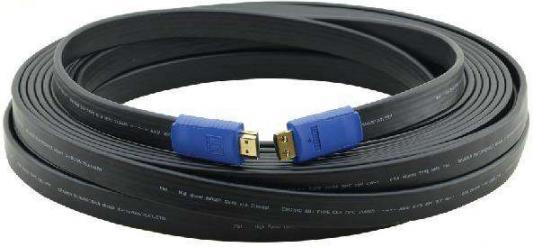 Фото - Кабель HDMI 7м Kramer C-HM/HM/FLAT/ETH-25 плоский черный 97-01014025 кабель hdmi 3м kramer c hm hm flat eth 10 плоский черный 97 01014010
