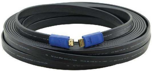 Фото - Кабель HDMI 10м Kramer C-HM/HM/FLAT/ETH-35 плоский черный 97-01014035 кабель hdmi 3м kramer c hm hm flat eth 10 плоский черный 97 01014010