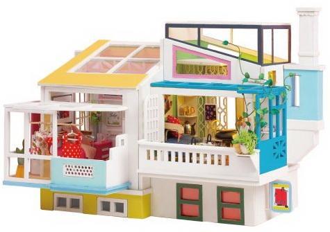Купить Конструктор интерьерный Robotime Любимый сосед 148 элементов, Деревянные конструкторы