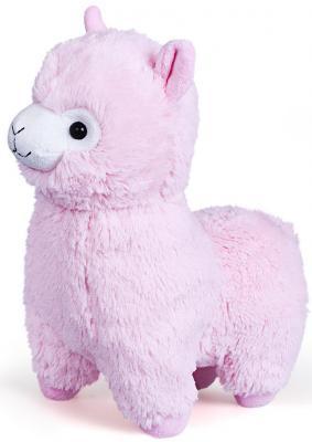 Купить Мягкая игрушка Альпака 21 см, Фэнси, розовый, текстиль, Животные
