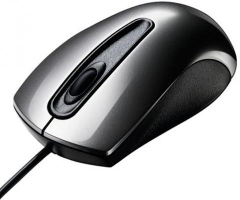 лучшая цена Мышь проводная ASUS UT200 серый USB