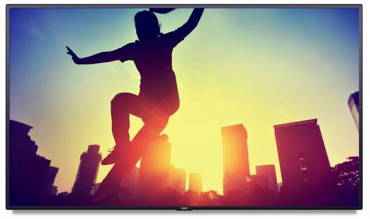 Телевизор NEC MultiSync P554 черный (07AL1LBN) nec multisync v552