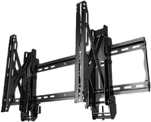 Фото - [VW46G3] Настенное крепление для видеостен Wize Pro VW46G3 с выдвижным механизмом, тех-гия push in-pop out,37 60+, регу-ка глубины, Max VESA 800x400 мм, до 68 кг, расстояние от стены 10-27 см, верт-ое/горизонт-ое выравн-ие, защита от кражи,черн. подушка alvitek подушка дольче пух перо 50 68 см