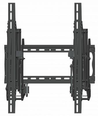 Фото - [VWP46G3] Настенное крепление для видеостены Wize Pro с выдвижным механизмом, технология push in-pop out, для 37 60+ в портретной ор-ции, регулировка глубины, Max VESA 800x400 мм, до 68 кг, расстояние от расстояние от стены 10-27 см, вертикальное/гори push