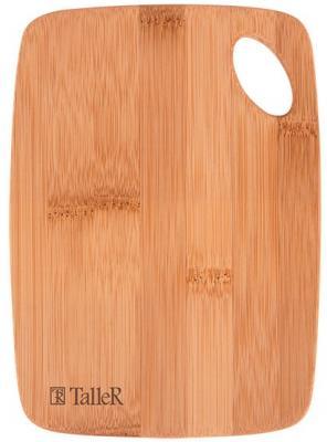 52215-TR Доска разделочная TalleR Размеры 30*22*0,9см.Материал: бамбук.