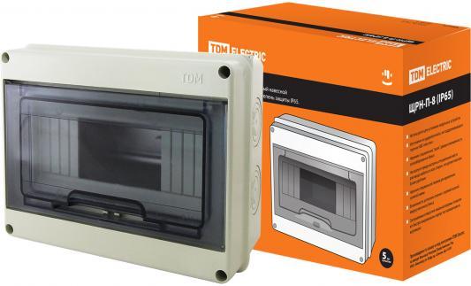 Бокс TDM SQ0908-0002 ЩРН-П-8 модулей навесной пластик IP65