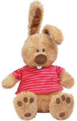 Мягкая игрушка Кролик Ушастик в маечке, 25 см