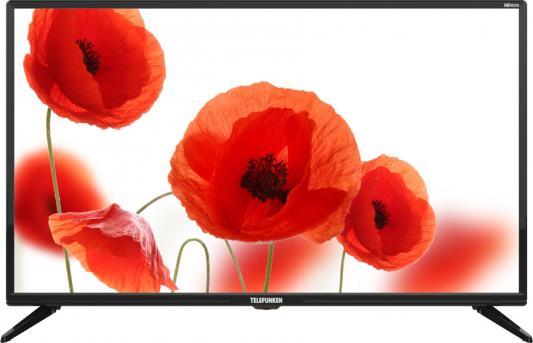 """Телевизор LED 32"""" Telefunken TF-LED32S06T2 черный/HD READY/ HDMI/ USB/ DVB-T/DVB-T2/DVB-C цена 2017"""