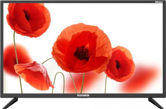 """цена Телевизор LED 32"""" Telefunken TF-LED32S07T2 черный/HD READY/ HDMI/ USB/ DVB-T/DVB-T2/DVB-C"""