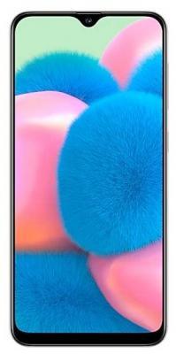 Смартфон Samsung Galaxy A30s 64 Гб белый (SM-A307FZWVSER) смартфон samsung galaxy j1 2016 8 гб черный sm j120fzkdser