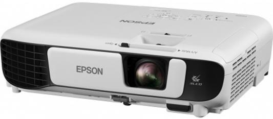 Фото - Проектор Epson EB-E05 1024x768 3200 люмен 10000:1 белый черный (V11H843140) проектор epson eb x06 белый [v11h972040]