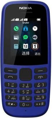 Nokia 105 SS TA-1203 Blue Мобильный телефон