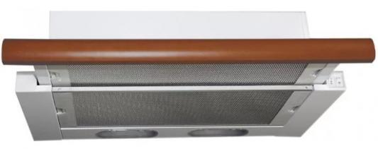 Кухонная вытяжка ELIKOR Интегра 60П-400-В2Л КВ II М-400-60-260 белый/бук орех 1