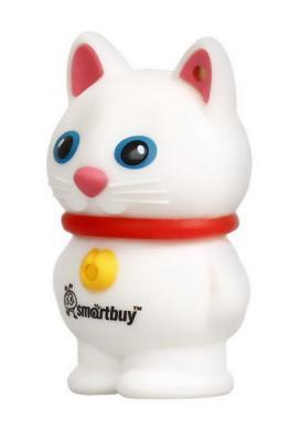 Фото - Smartbuy USB Drive 16Gb Wild series Cat White SB16GBCatW {UFD} ufd smartbuy 16gb wild series бык sb16gbbullw