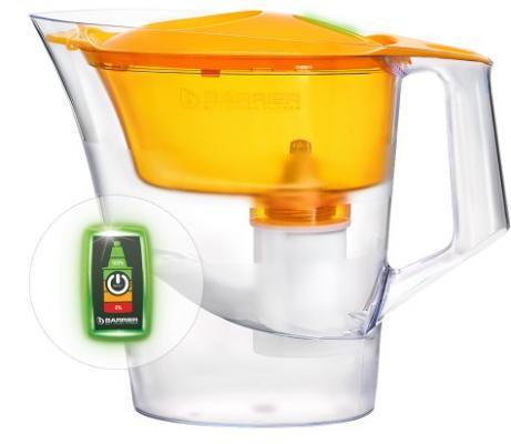 Фильтр-кувшин для воды Барьер В654Р00 фильтр кувшин барьер чемпион сочный апельсин опти лайт в654р00
