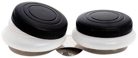 масленка с крышкой сrumpled 20 5х10х9 5 см керамика Масленка пластиковая двойная с крышкой, диаметр 5 см, высота 1,7 см, DK11004