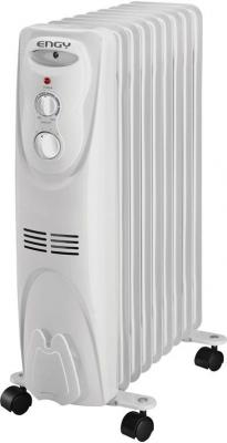 Масляный радиатор Engy EN-1309 2000 Вт термостат колеса для перемещения белый биметаллический радиатор rifar рифар b 500 нп 10 сек лев кол во секций 10 мощность вт 2040 подключение левое