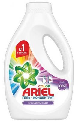 Средство для стирки жидкое автомат, 1,04 л ARIEL (Ариэль) Color, гель, концентрат, 1001998 средство для стирки жидкое автомат 2 6 л ariel ариэль color гель концентрат 1001932