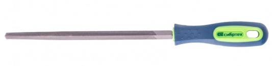 Фото - Напильник, 200 мм, трехгранный, двухкомпонентная рукоятка, №2// Сибртех напильник 300 мм плоский двухкомпонентная рукоятка 2 сибртех