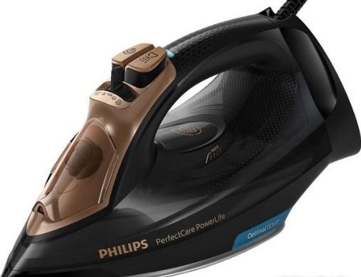 Утюг Philips GC3929/64 2400Вт черный/бронзовый цена