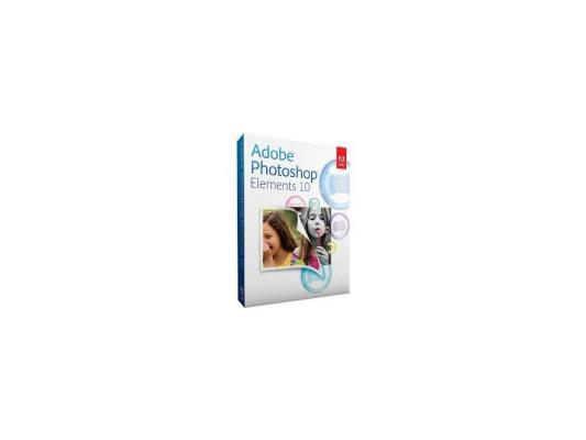Программное обеспечение Adobe Photoshop Elements 10.0 Multiple Platforms non EU English Retail LB (65136690)