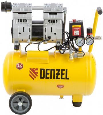 Компрессор DLS950/24 безмаслянный малошумный 950 Вт, 165 л/мин,ресивер 24 л </div> <div class=
