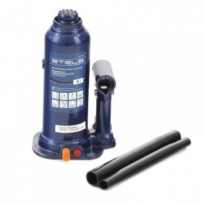 Домкрат гидравлический бутылочный, 4 т, h подъема 188–363 мм </div> <div class=